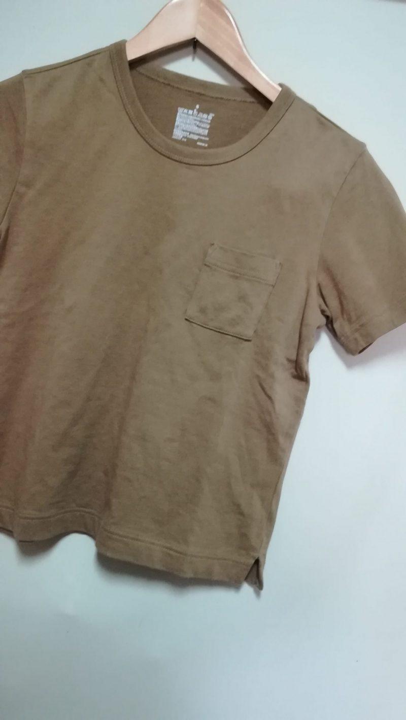 MUJIポケットつきTシャツ