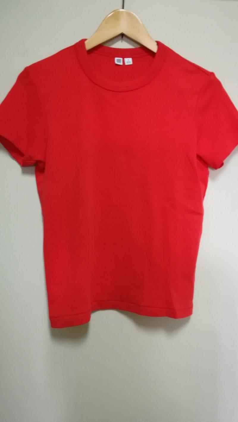 ユニクロカラーTシャツ