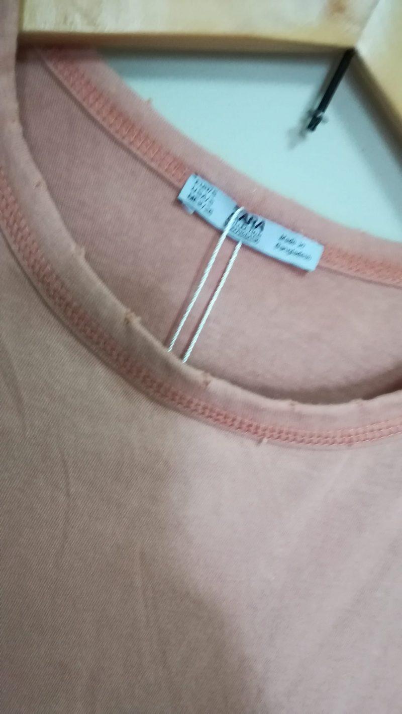 ZARA Tシャツ 襟