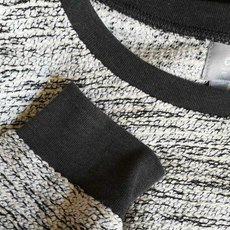 GAPプルオーバーニット袖