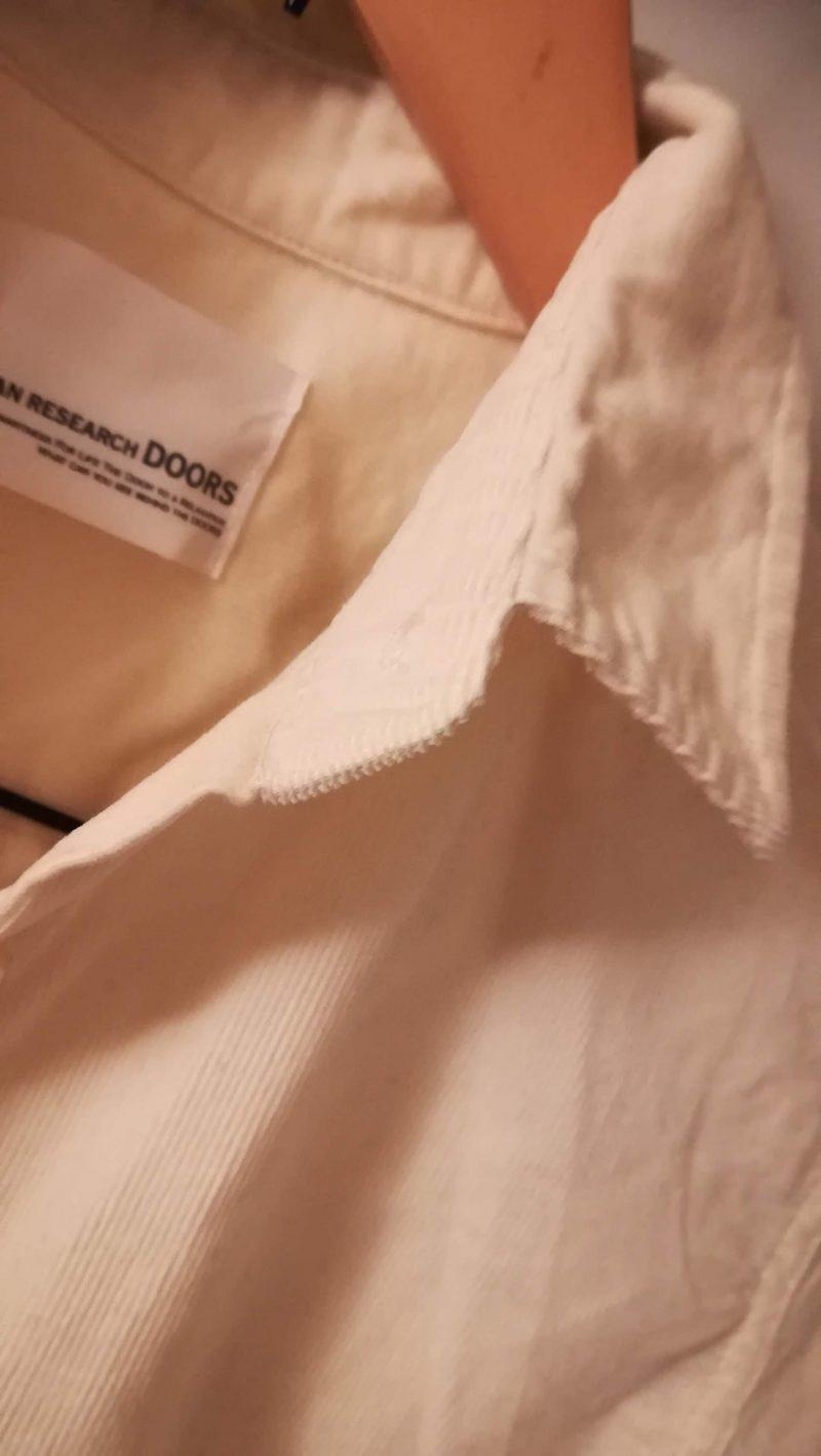 ドアーズコーデュロイシャツ衿