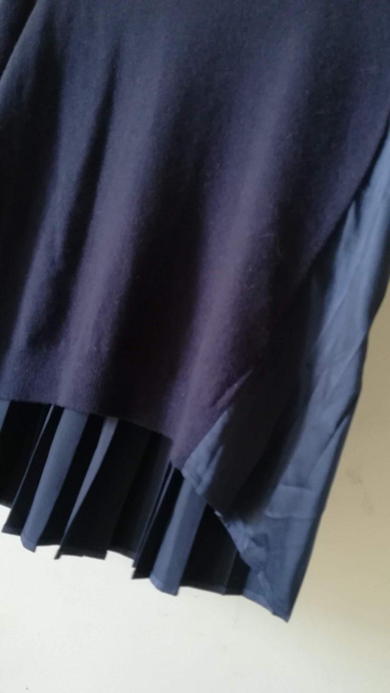レイビームスニット裾