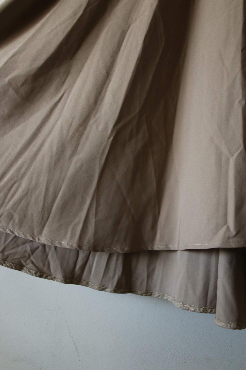 バースデーバッシュスカート裾