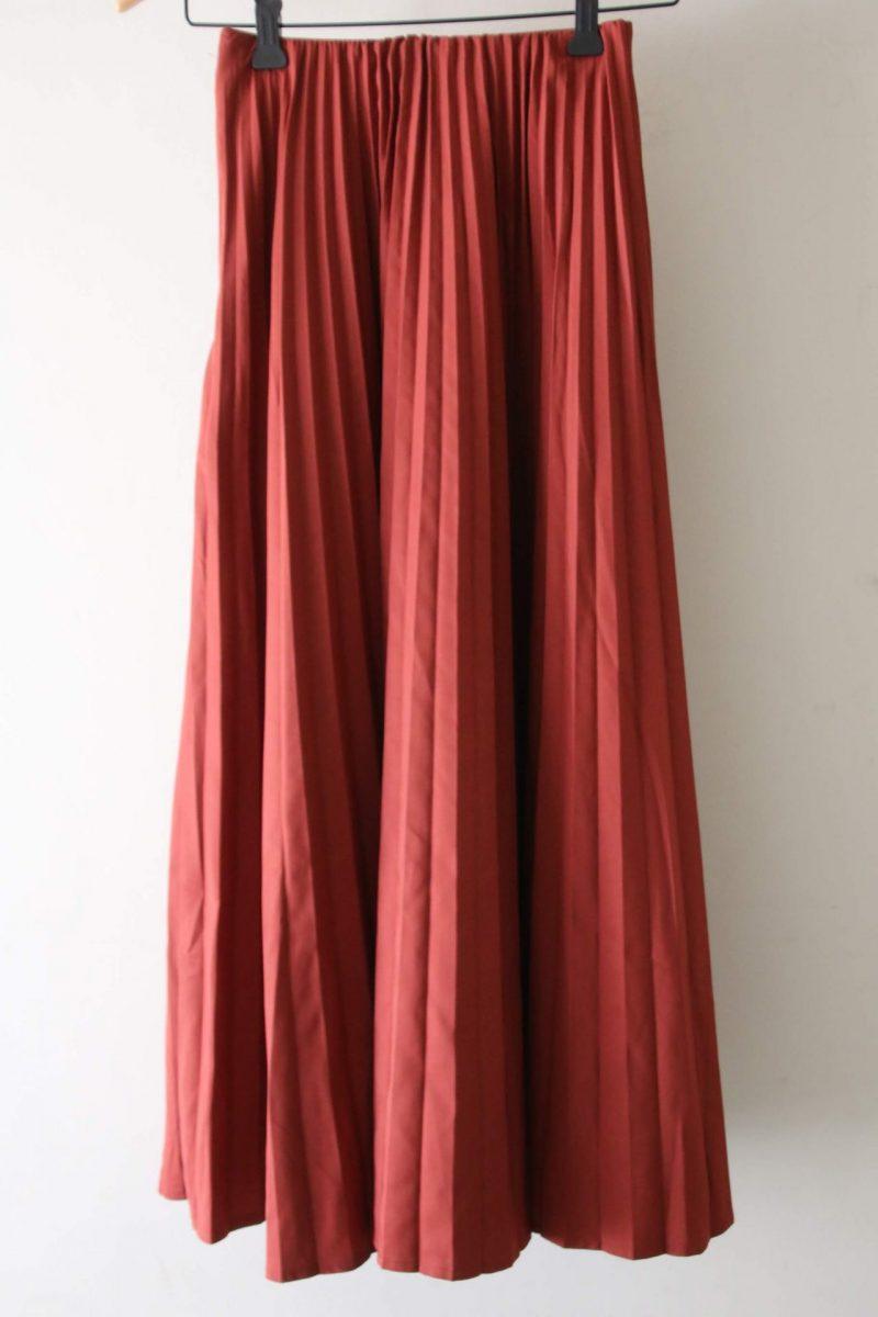 リリーブラウンスカート