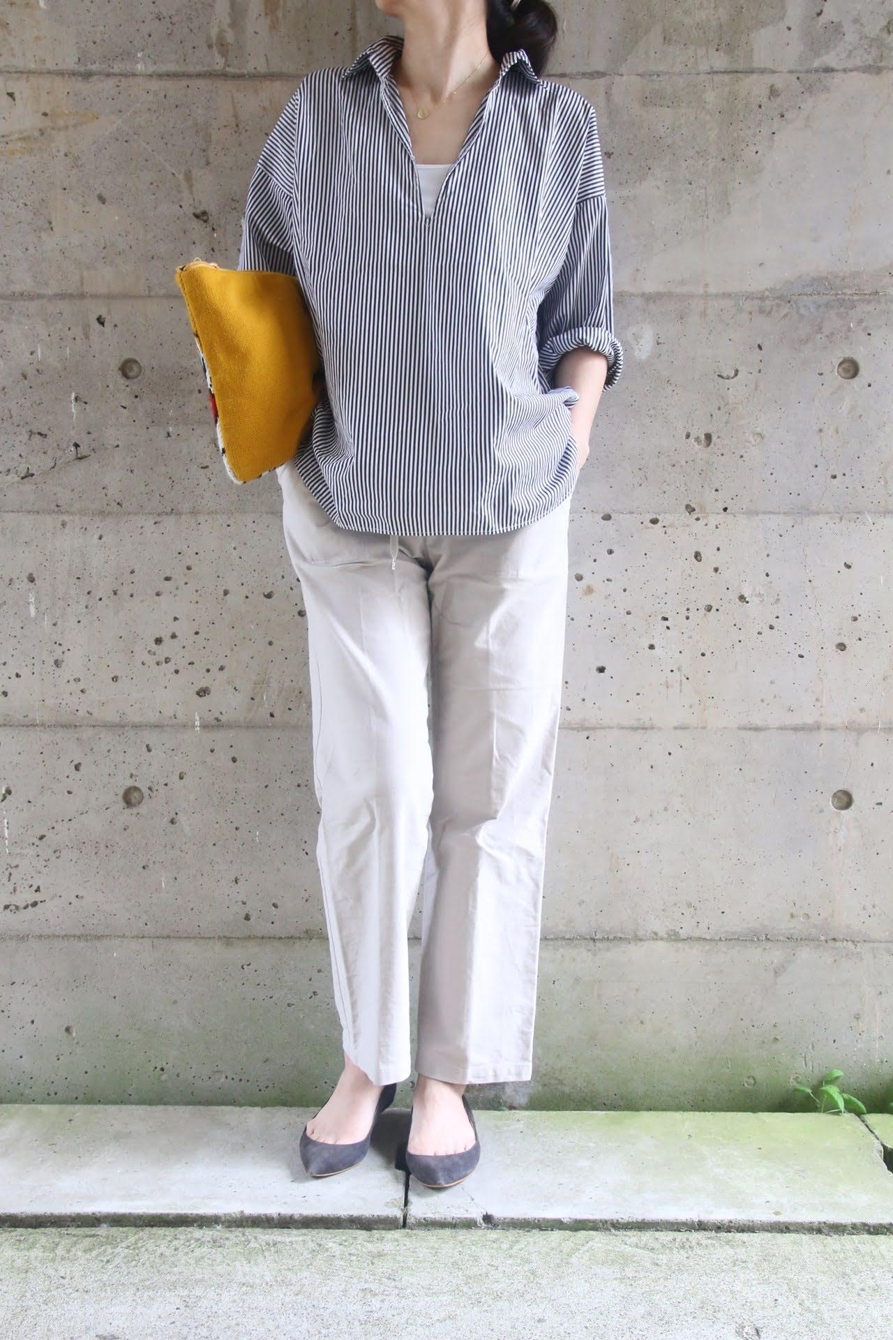 journalstandardシャツコーディネート