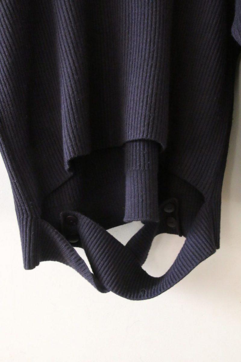 ミラオーウェンニット裾