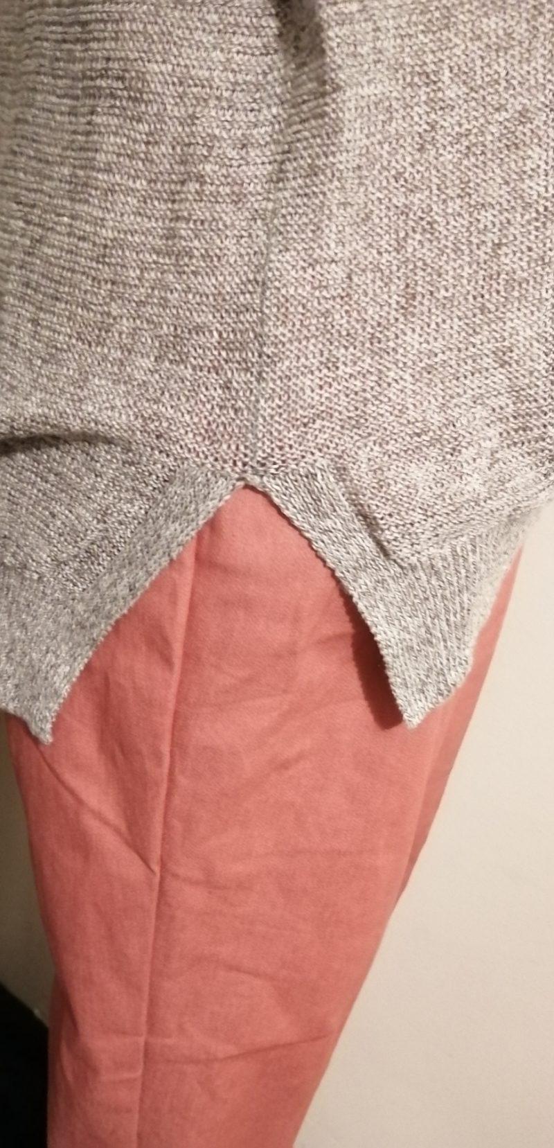 グロスターニット裾