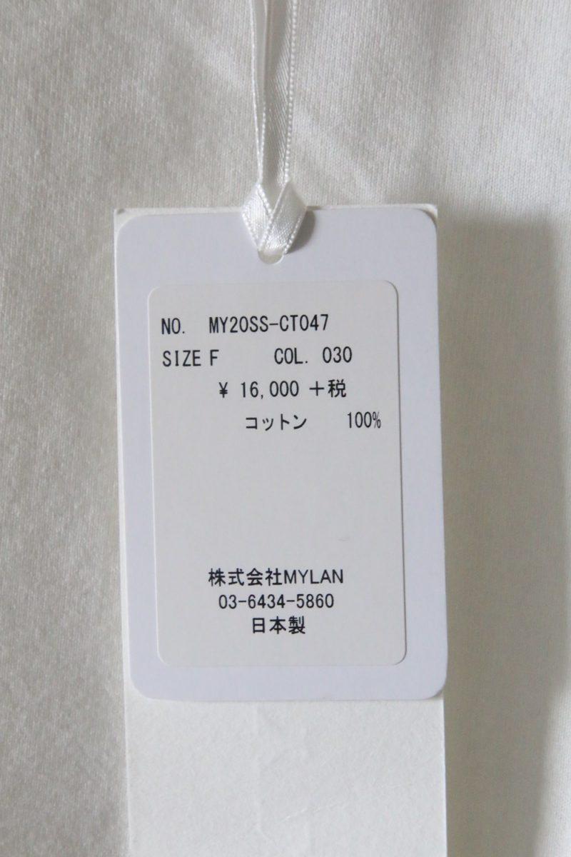 MYLAN Tシャツ値札