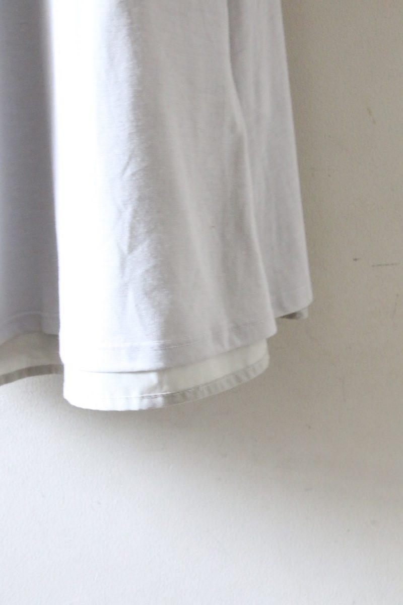 ナノユニバースワンピース裾